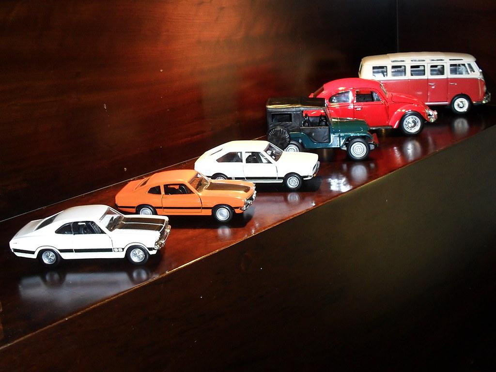 Miniaturas De Carros Brasileiros Meio Pixel Flickr