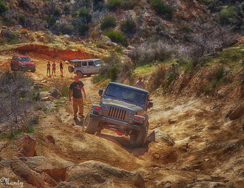 Hill climbing the back road to Crown King Arizona  Flickr
