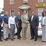 Mayo, Monroe Donate Two Police Cars to GSU