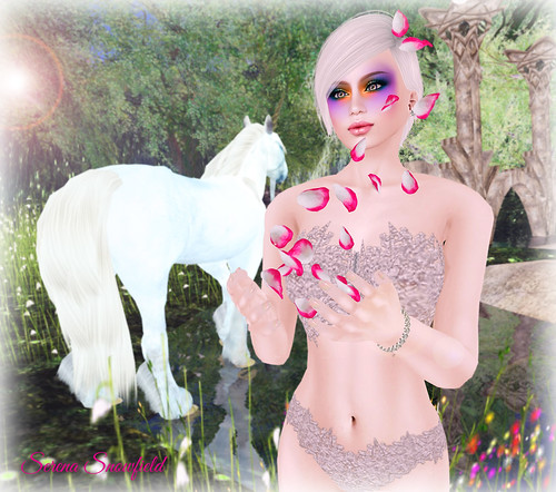 Fabulously Free in SL - Falling Alphas, Snowflakes, and Petals | by Serena Snowfield - On Hiatus Until June