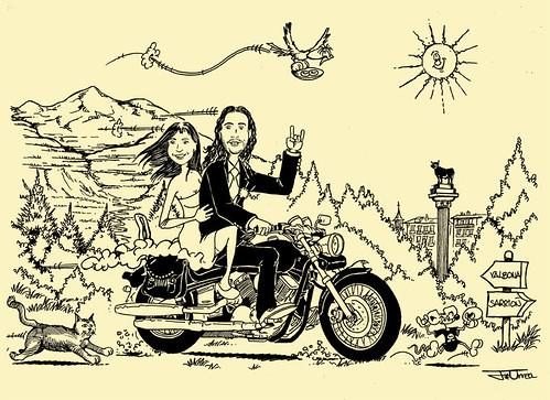 Moteros y amantes del motor
