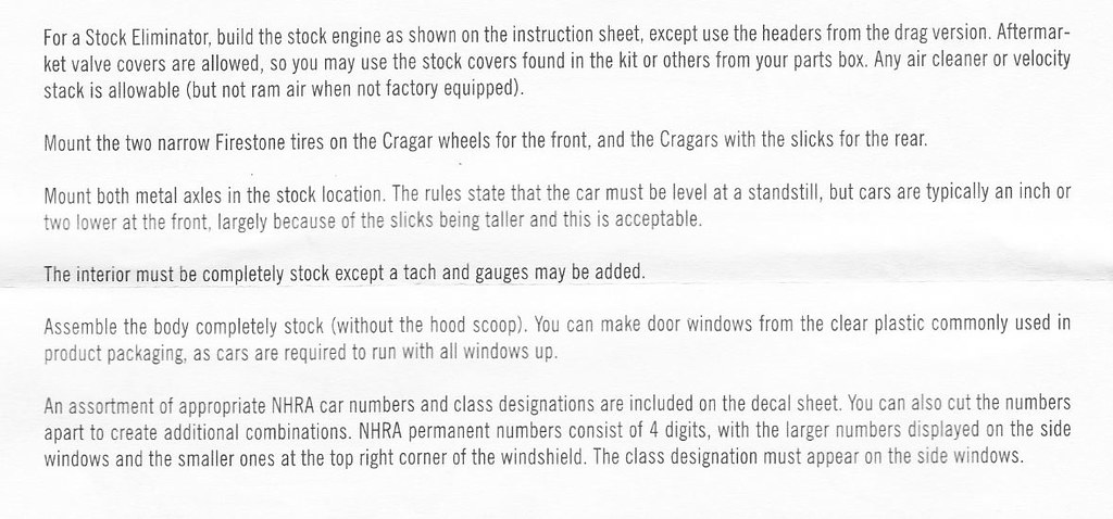 Amt 65 Chevelle Wagon Instructions 2 From Instruction Shee Flickr