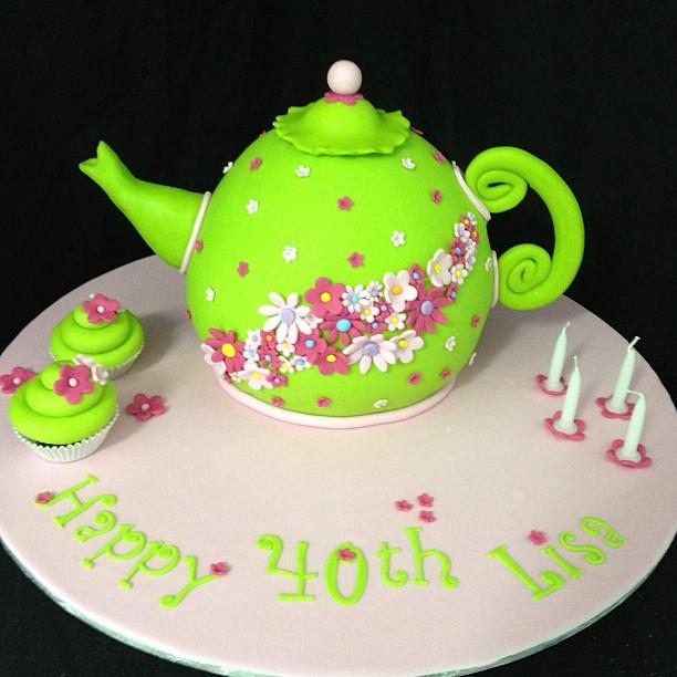 D Teapot Cake Pan