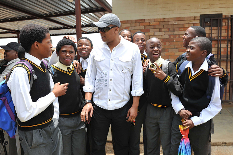 Doctor Khumalo Visits His Former School To Donate Sport Ki