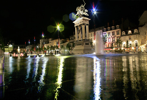 place de jaude de nuit clermont ferrand auvergne flickr. Black Bedroom Furniture Sets. Home Design Ideas