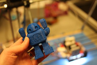 3D printing robot party | by happykatie