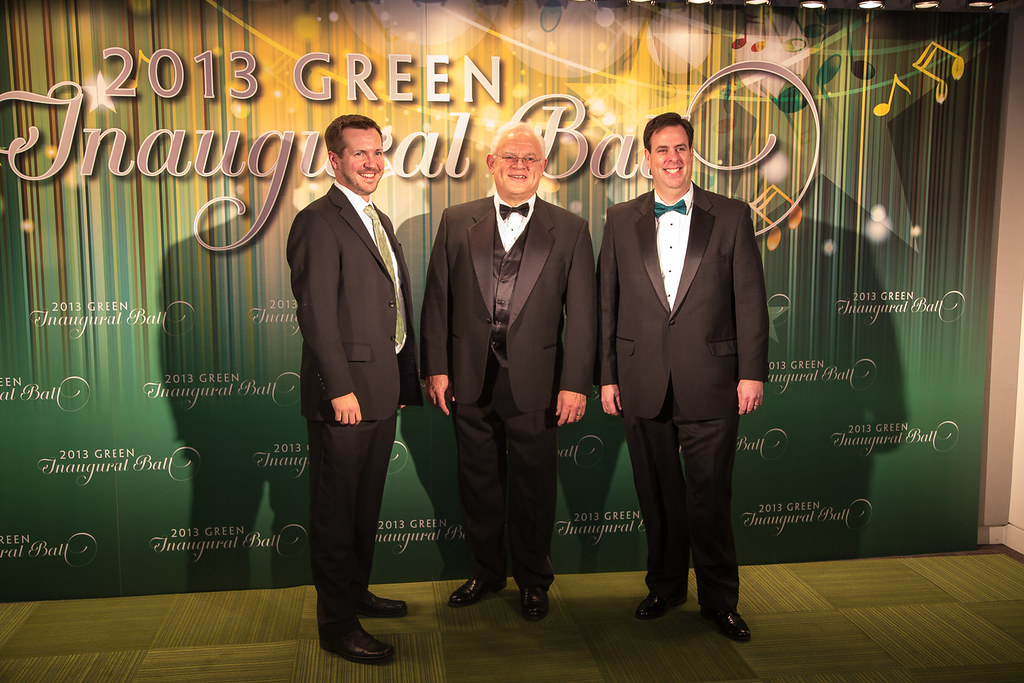National Wildlife Federation Staff At The Green Inaugural