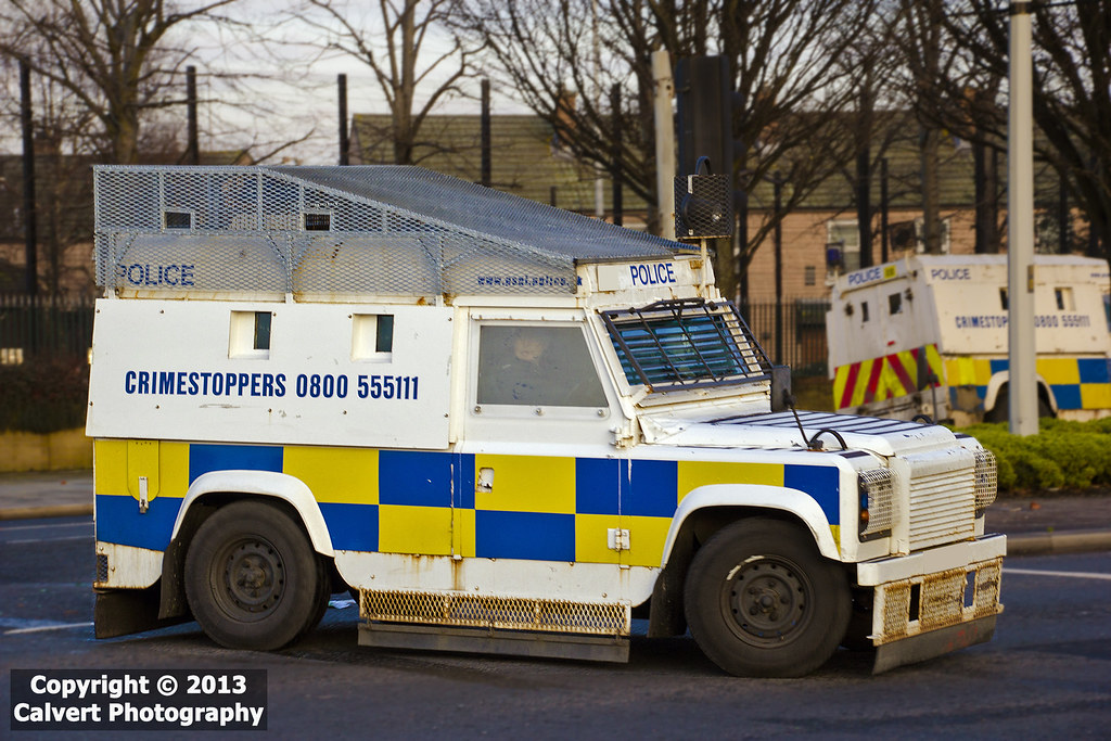 Old White Land Rover >> PSNI / POLICE / Land Rover Tangi / RARE | An armoured Land R… | Flickr