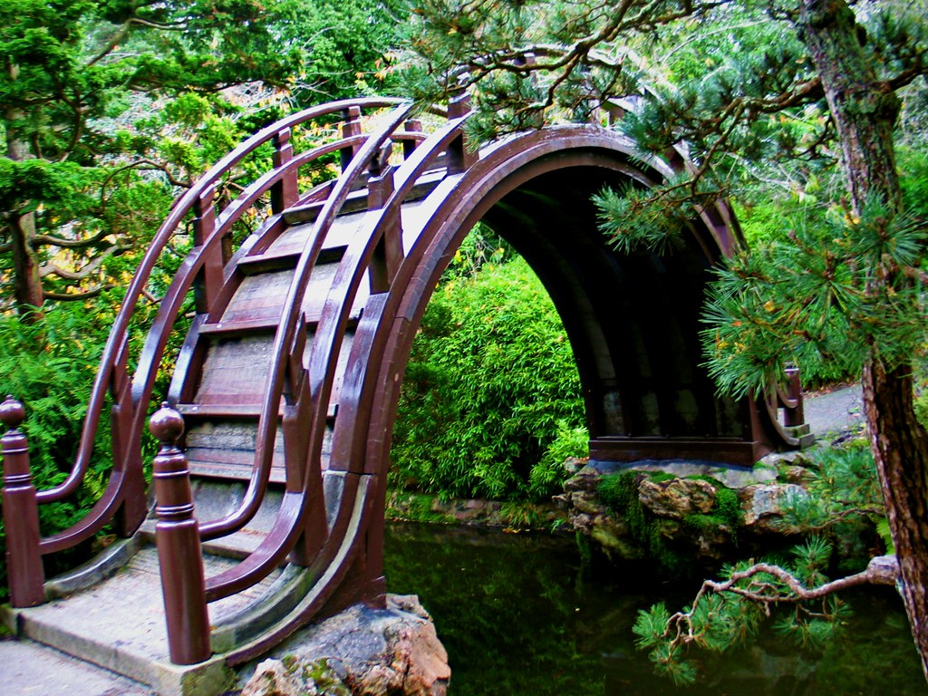 Moon Bridge Japanese Tea Gardens San Francisco Californi Benitamarquez Flickr