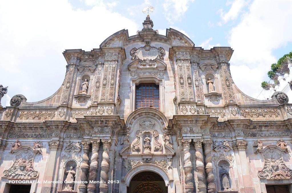 Fachada de la iglesia la compa a de jes s en quito flickr for Ministerios del ecuador