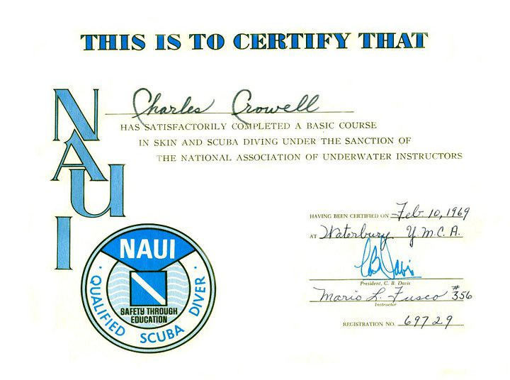 Scuba Certification from the National Association of Under… | Flickr