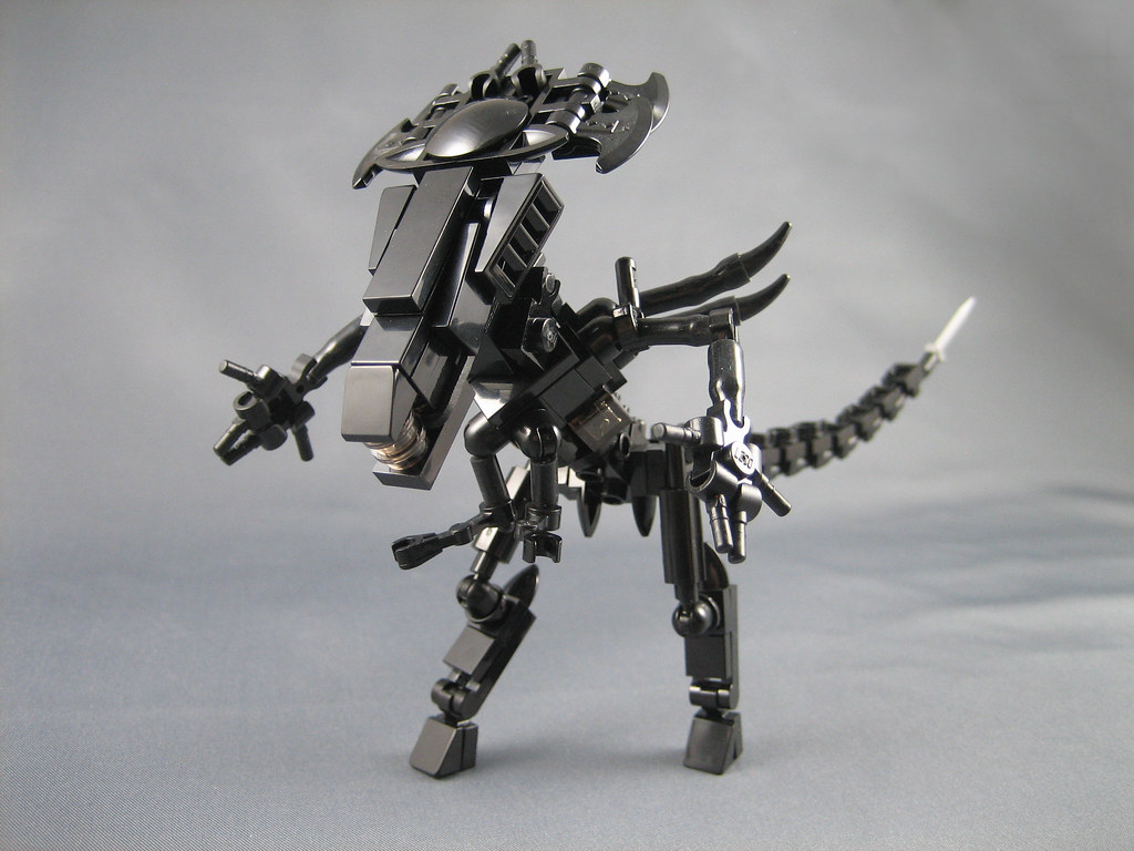 Mini Lego Aliens Queen Here She Is The Mother Of All