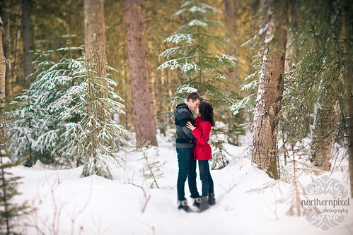 Prince George BC Winter Engagement Session | by Shauna Stanyer (Northern Pixel)