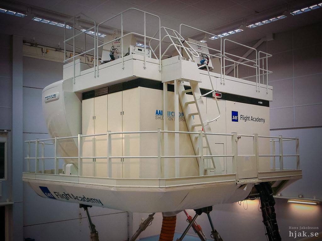 airbus a320 full flight simulator sas flight academy. Black Bedroom Furniture Sets. Home Design Ideas