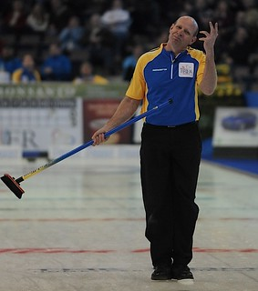 Edmonton Ab.Mar5,2013.Tim Hortons Brier.Alberta skip Kevin Martin.CCA/michael burns photo | by seasonofchampions
