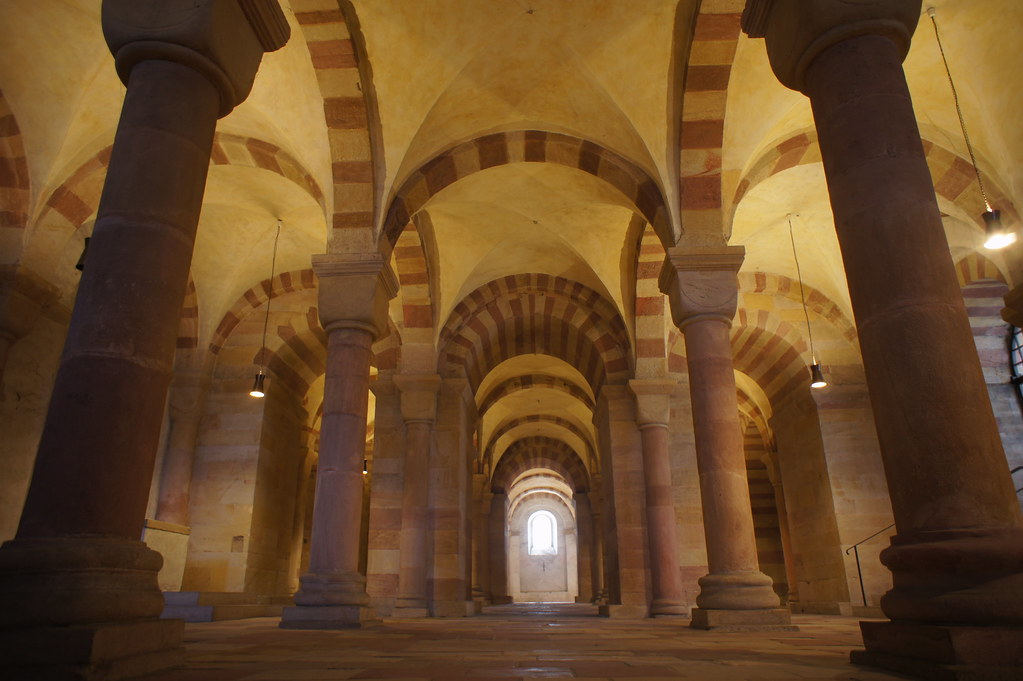 Speyer Cathedral Interior Speyer Cathedral Crypt