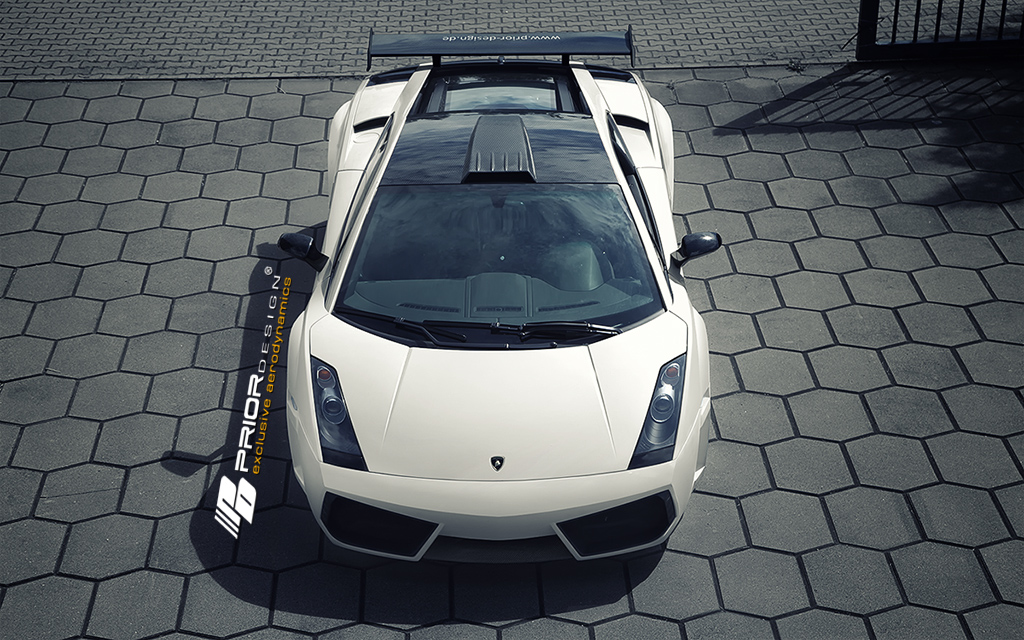 Lamborghini Gallardo Pd L800 Widebody Aerodynamic Kit Prio
