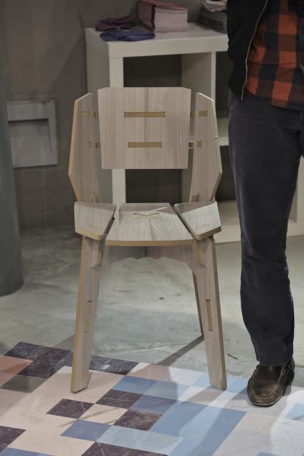 Subasta de muebles realizados por alumnos de dise o - Muebles diseno industrial ...