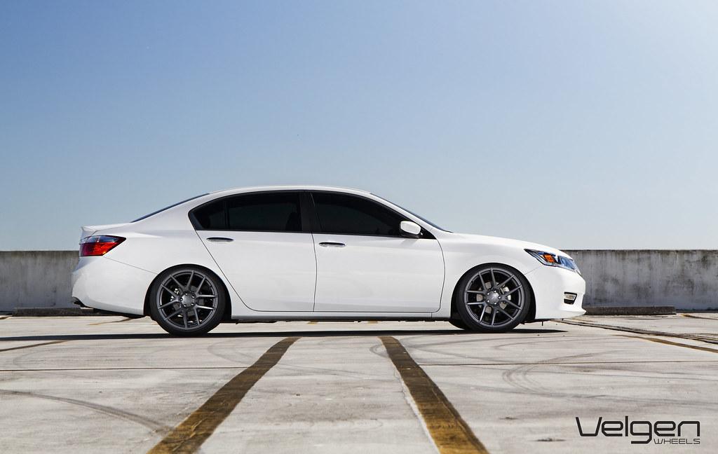Lowered Honda Accord Sedan 2013 Honda Accord Sedan
