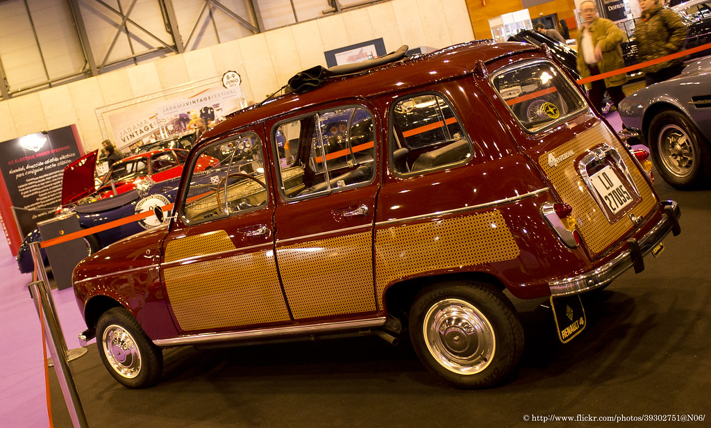 1963 Renault 4 Parisienne My Favorite Edition Of The 4 L Flickr
