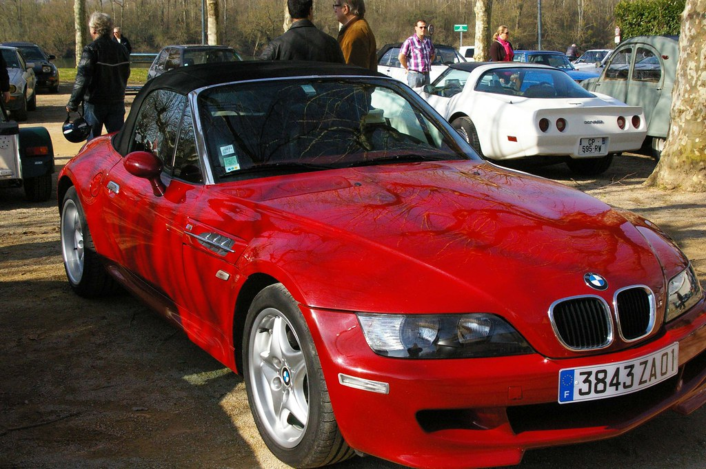 0118 Bmw Cabriolet Rouge Z3 Sport M3 Retro Car Meeting 2
