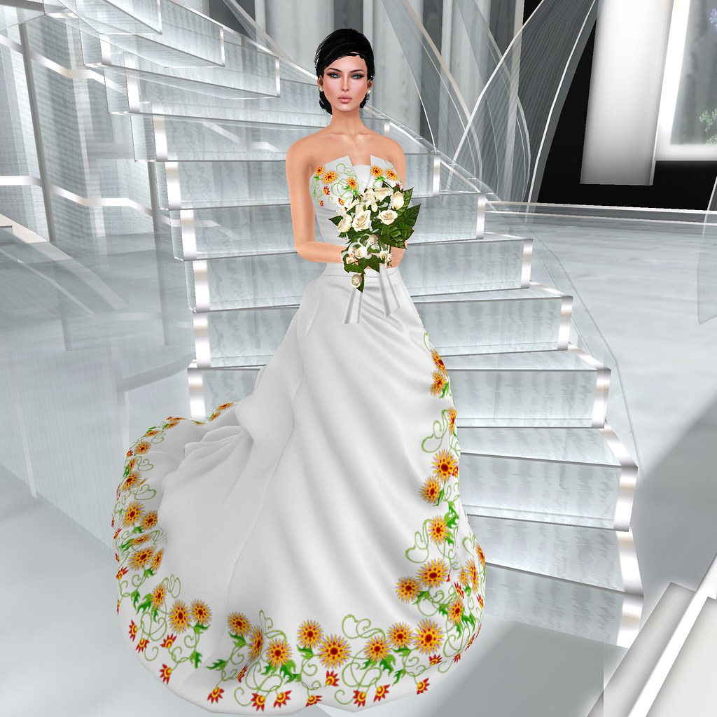 Vips Creations Female Wedding Dressmexican Style Ca Flickr
