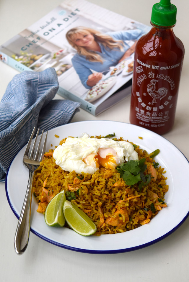 Easy Coconut Kedgeree from Chef on a Diet | www.rachelphipps.com @rachelphipps