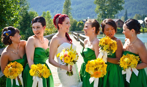 bridal-party-hair-styles | by vanmobilehair