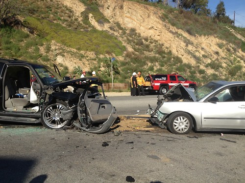 Lincoln Heights Collision Sends 6 to Hospital | by LAFD