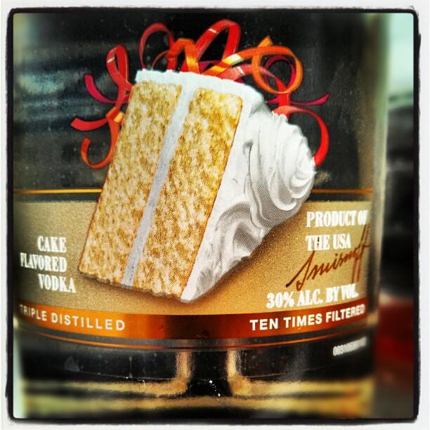 Smirnoff Iced Cake Flavored Vodka Alcohol