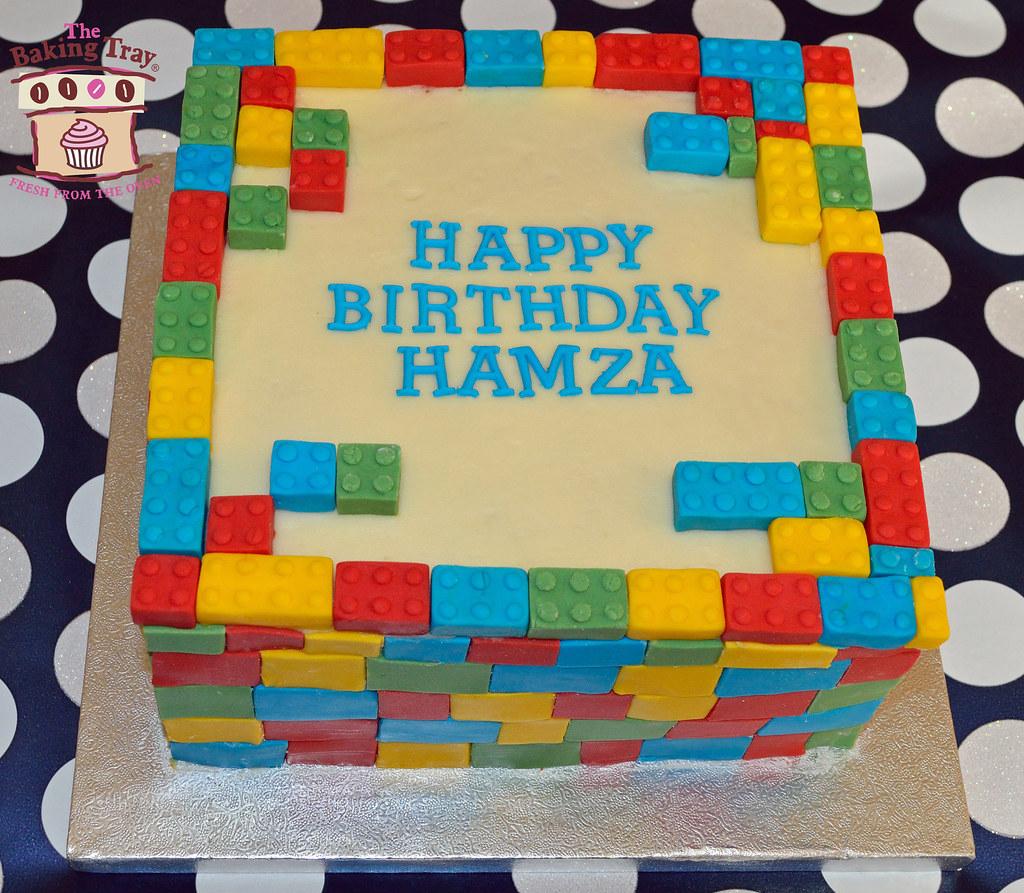 Baking A Lego Cake