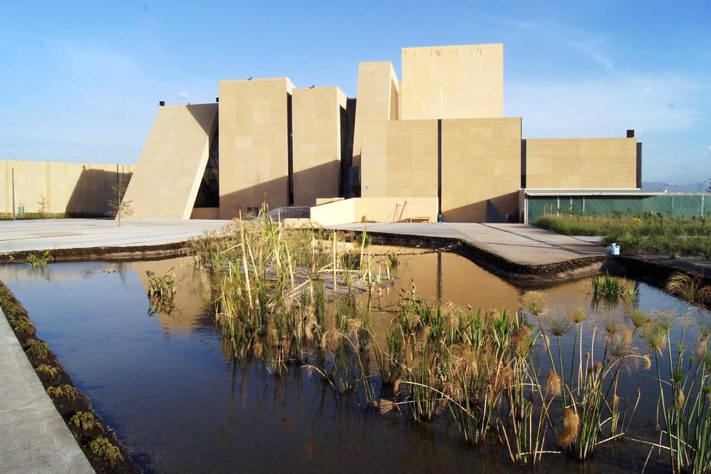 Ccmb espejo de agua centro cultural mexiquense for Conceptualizacion de la arquitectura