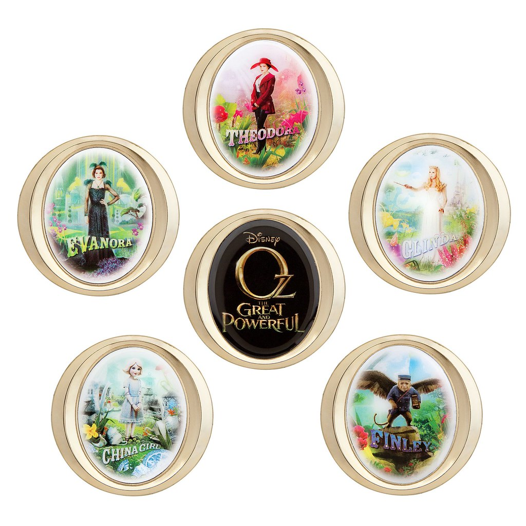 Oz The Great and Powerful Pin Set - Limited Edition - US D… | Flickr