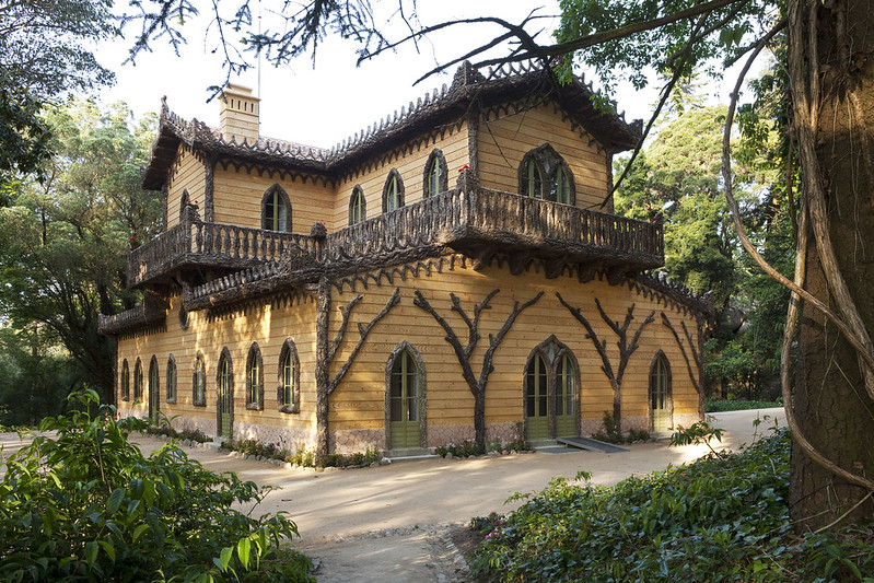 Chalet of the Countess of Edla, Sintra, PORTUGAL
