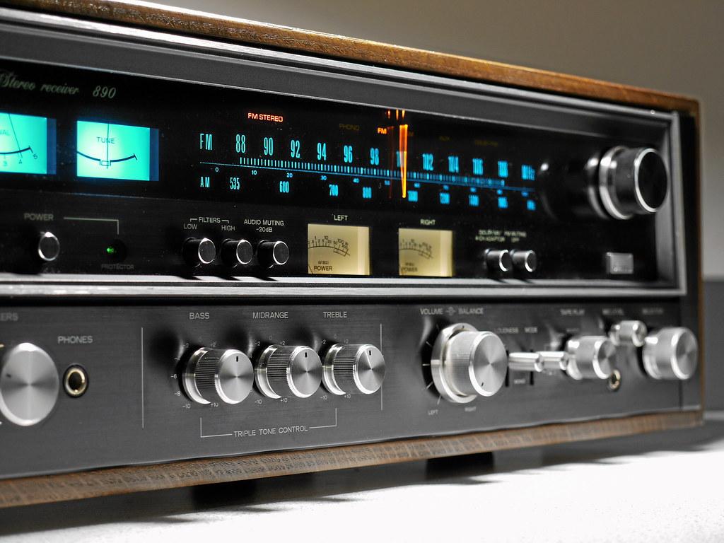 Old Yamaha Radio