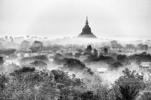 balloons over bagan | by Christopher.Michel