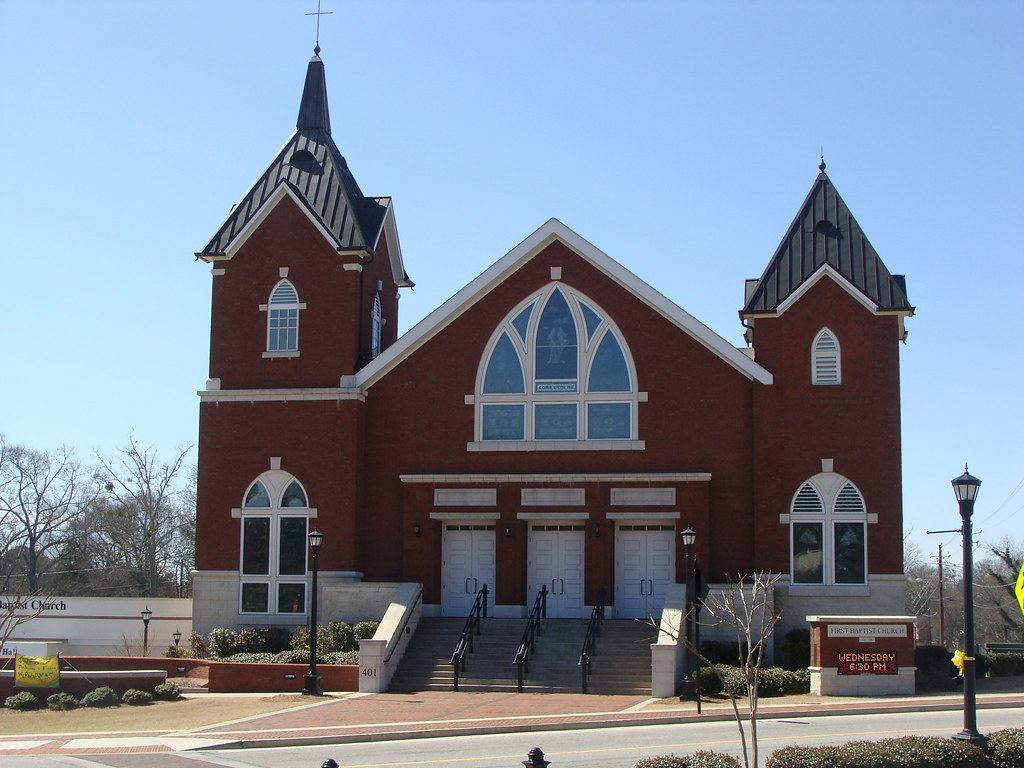 First baptist church dallas ga lamar flickr for First ch