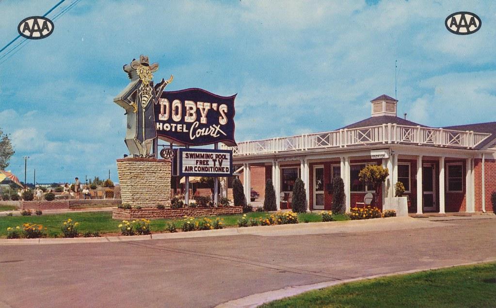 Doby's Hotel Court - Montgomery, Alabama