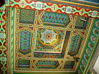 Painted Ceiling at Dushanbe | by teama2012