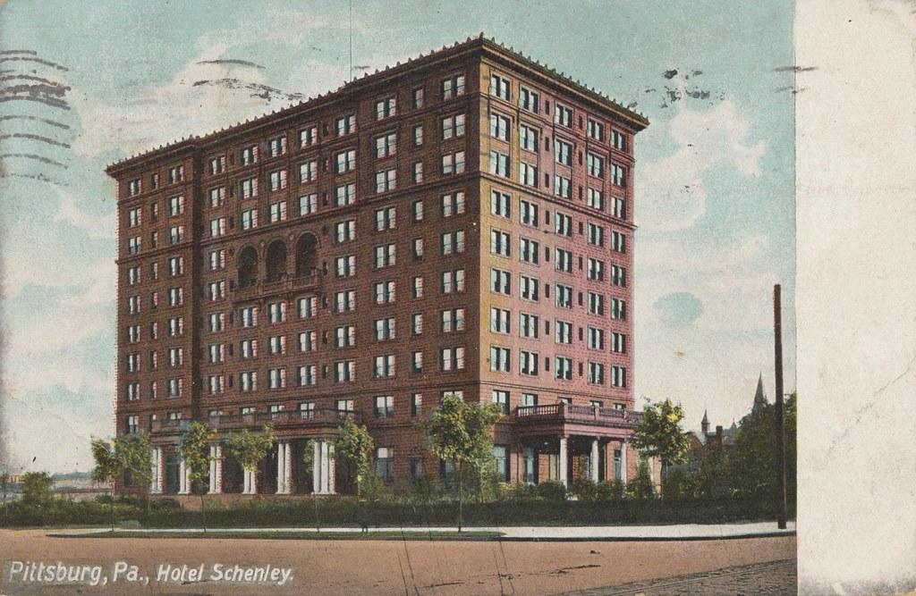 Hotel Schenley - Pittsburg, Pennsylvania