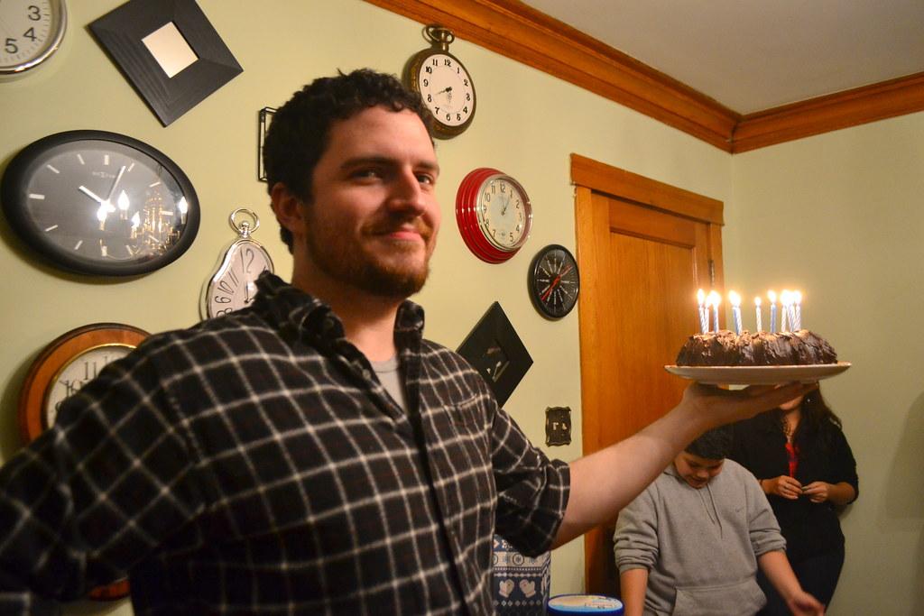 Chocolate Guinness Birthday Cake