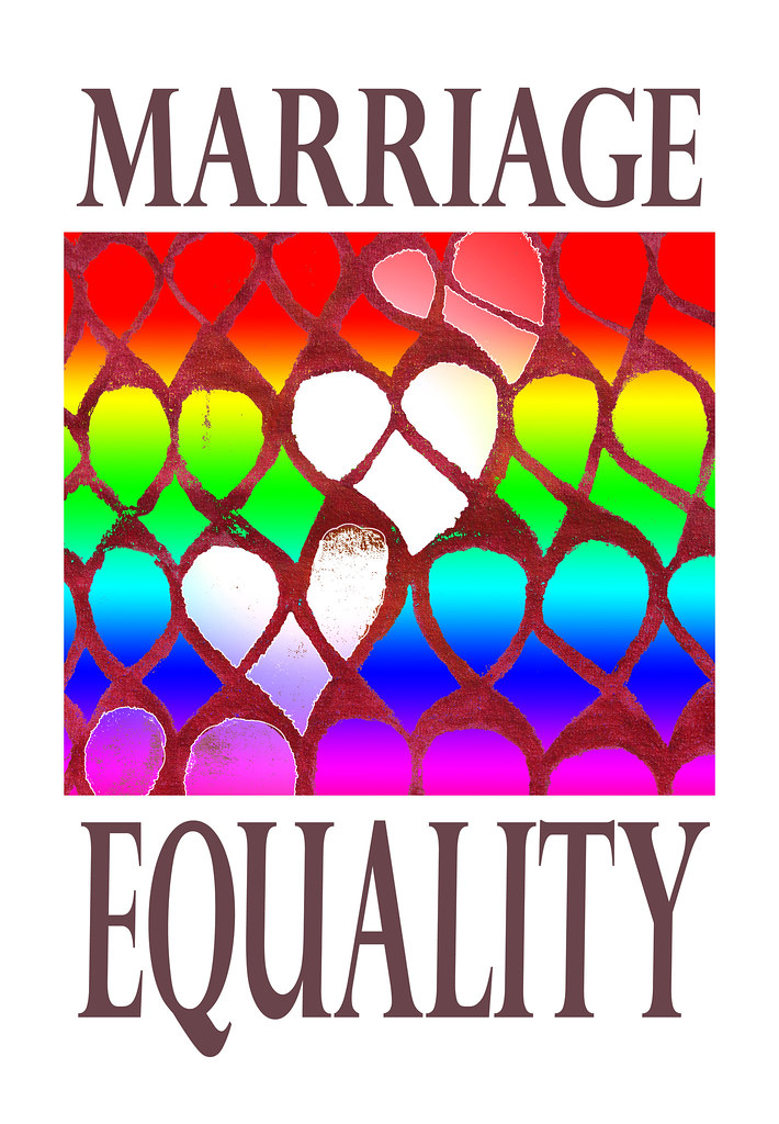 Marriage Equality Logo Symbol Rainbow Hearts United Rep Flickr