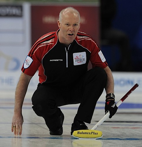 Edmonton Ab.Mar3,2013.Tim Hortons Brier.Ontario skip Glenn Howard.CCA/michael burns photo | by seasonofchampions