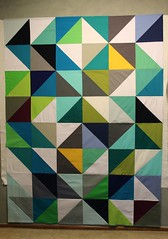 HST quilt top by aquilterstable
