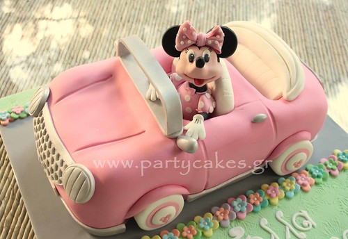 Minnie Mouse Car Cake | by Party Cakes By Samantha