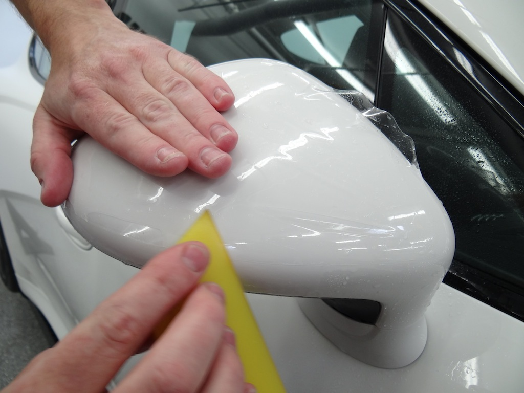 Porsche panamera gts nano fusion clear bra installation clear film protection flickr