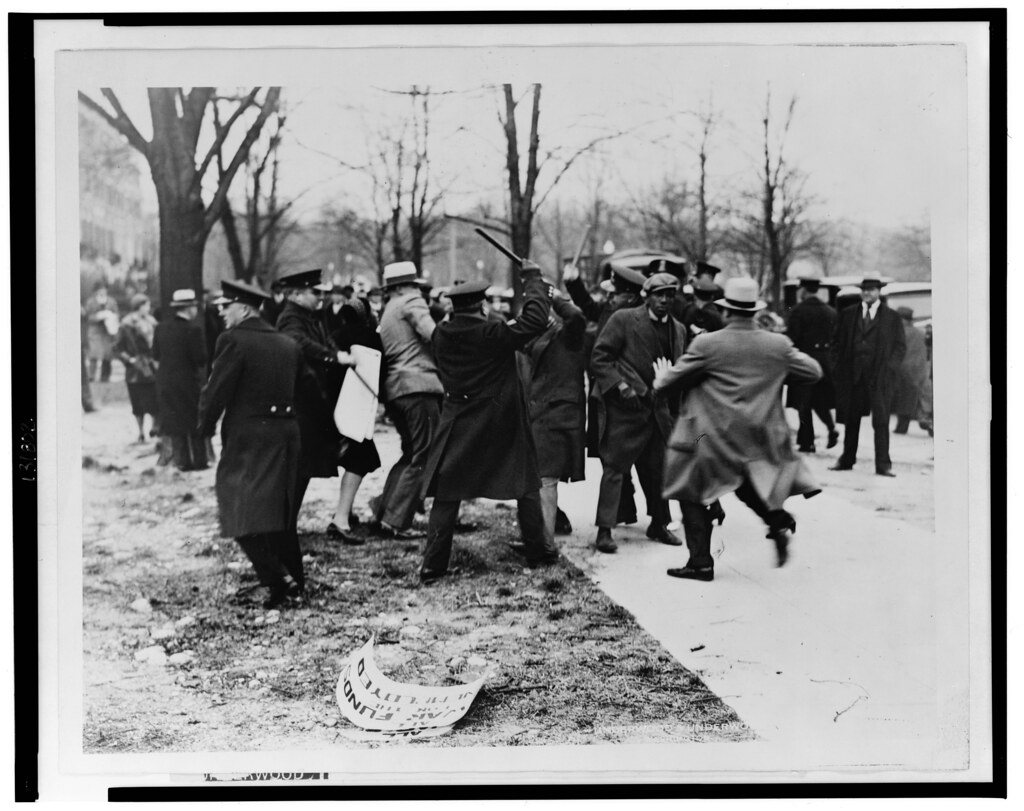Dc Police Break Up Protest Against Japanese Atrocities 19
