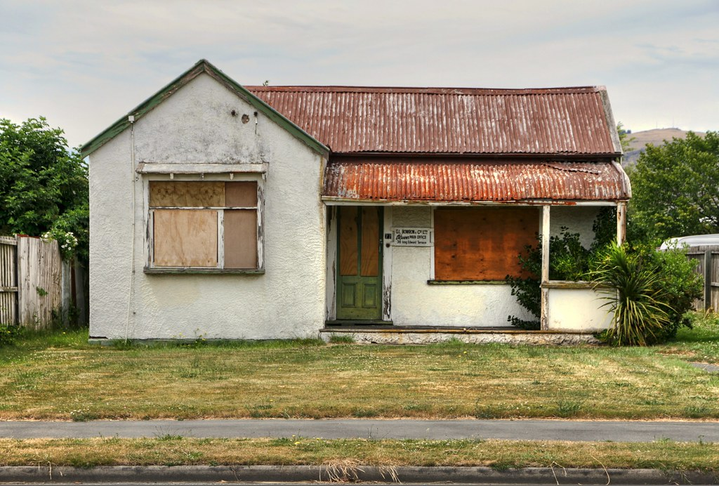 Old House Woolston Christchurch Canterbury New Zealand