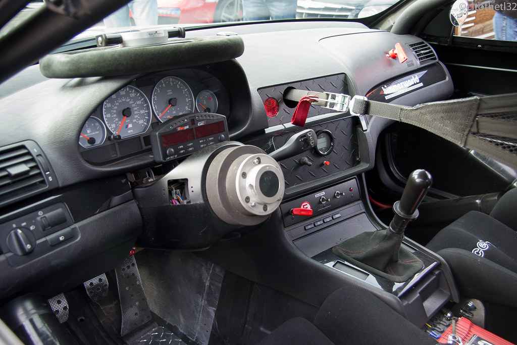 ... BMW E46 M3 Gutted Interior   Race Prep | By CLtotheTL32