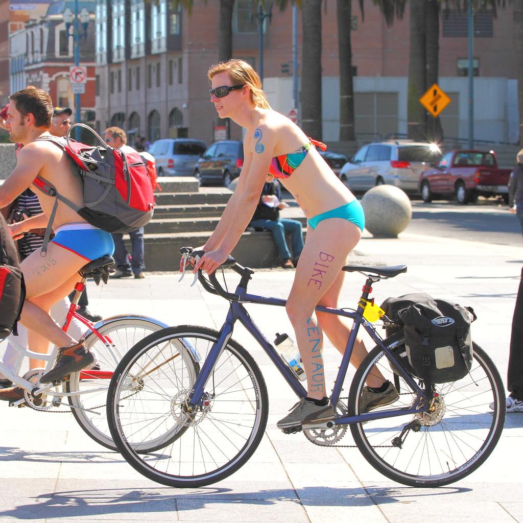 Nude bike ride in san frisco
